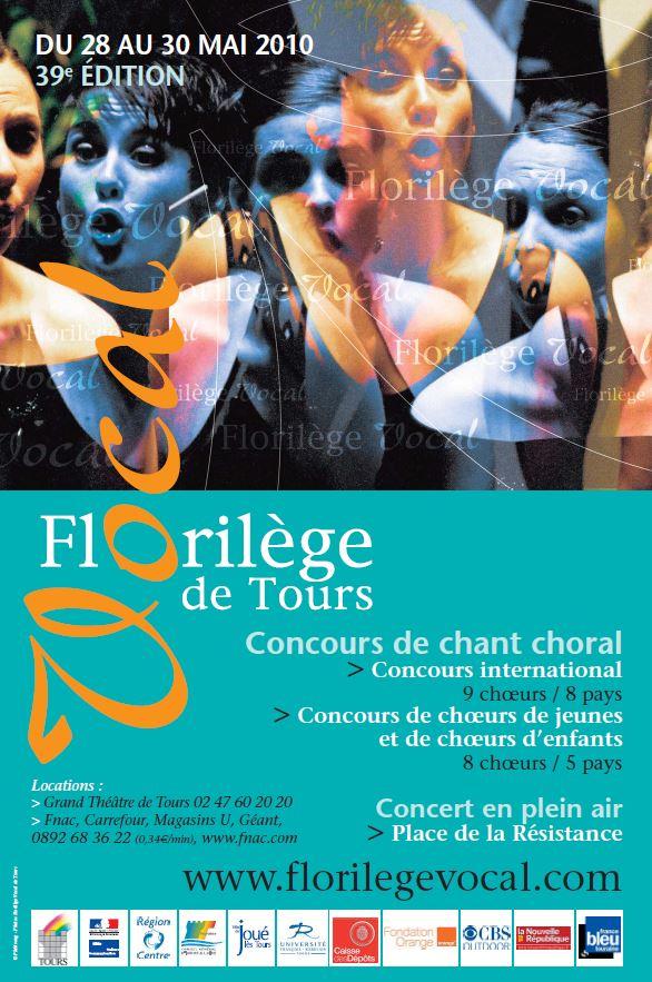 Affiche Florilège Vocal 2010