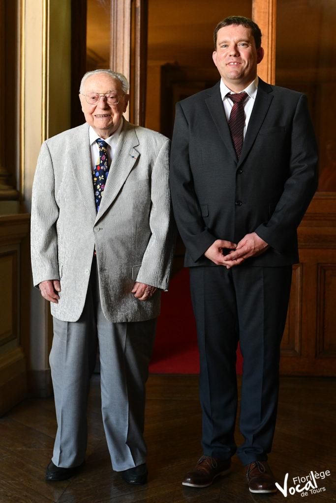 Claude Panterne et Sébastien Durand