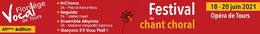 Bandeau festival chant choral 2021